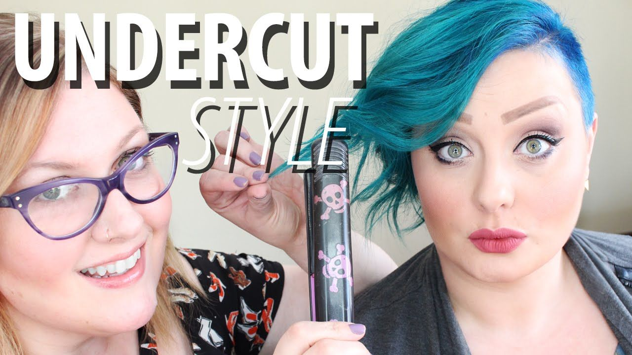 How To Style An Undercut Hairstyle For Women Youtube Pixie Cut