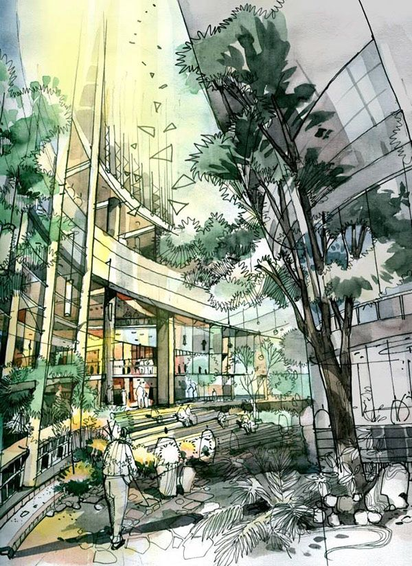 Outstanding landscape architecture pinterest for Landscape architect drawing