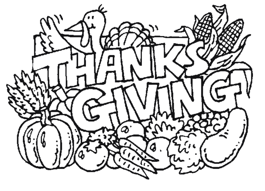 fall harvest coloring pages thanksgiving dinner coloring page