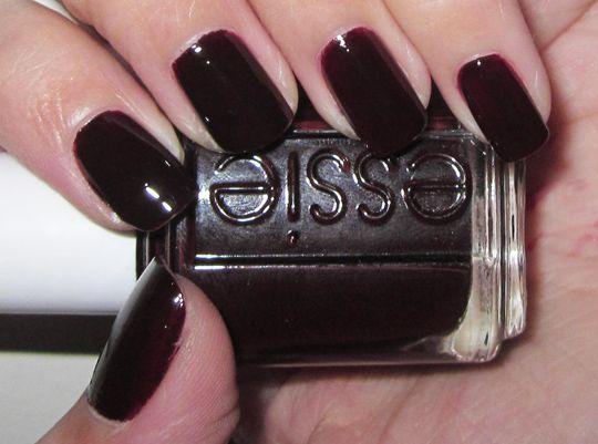 Essie Wicked Burgundy