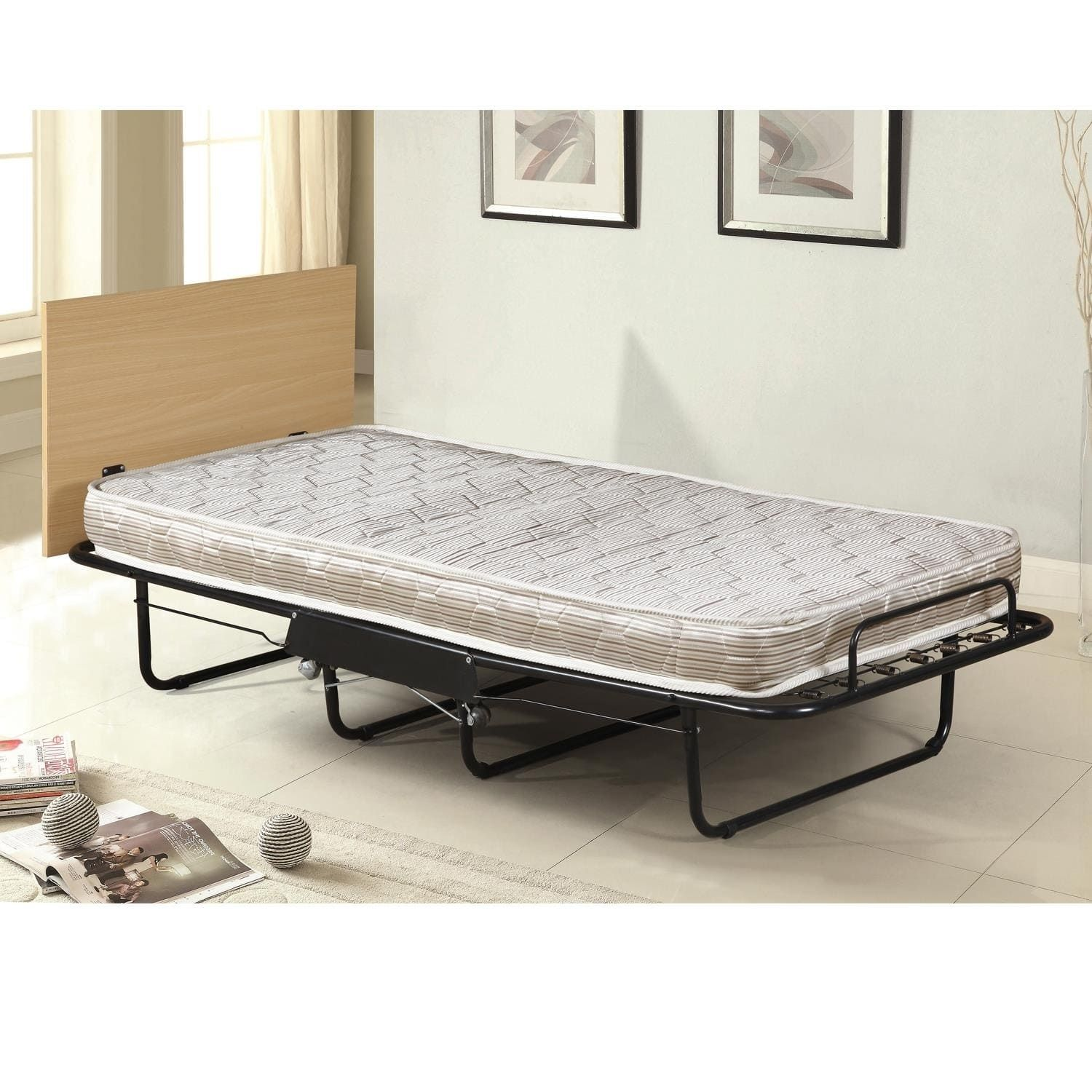 home source ezmerelda black metal twin size cot bed cot bedding