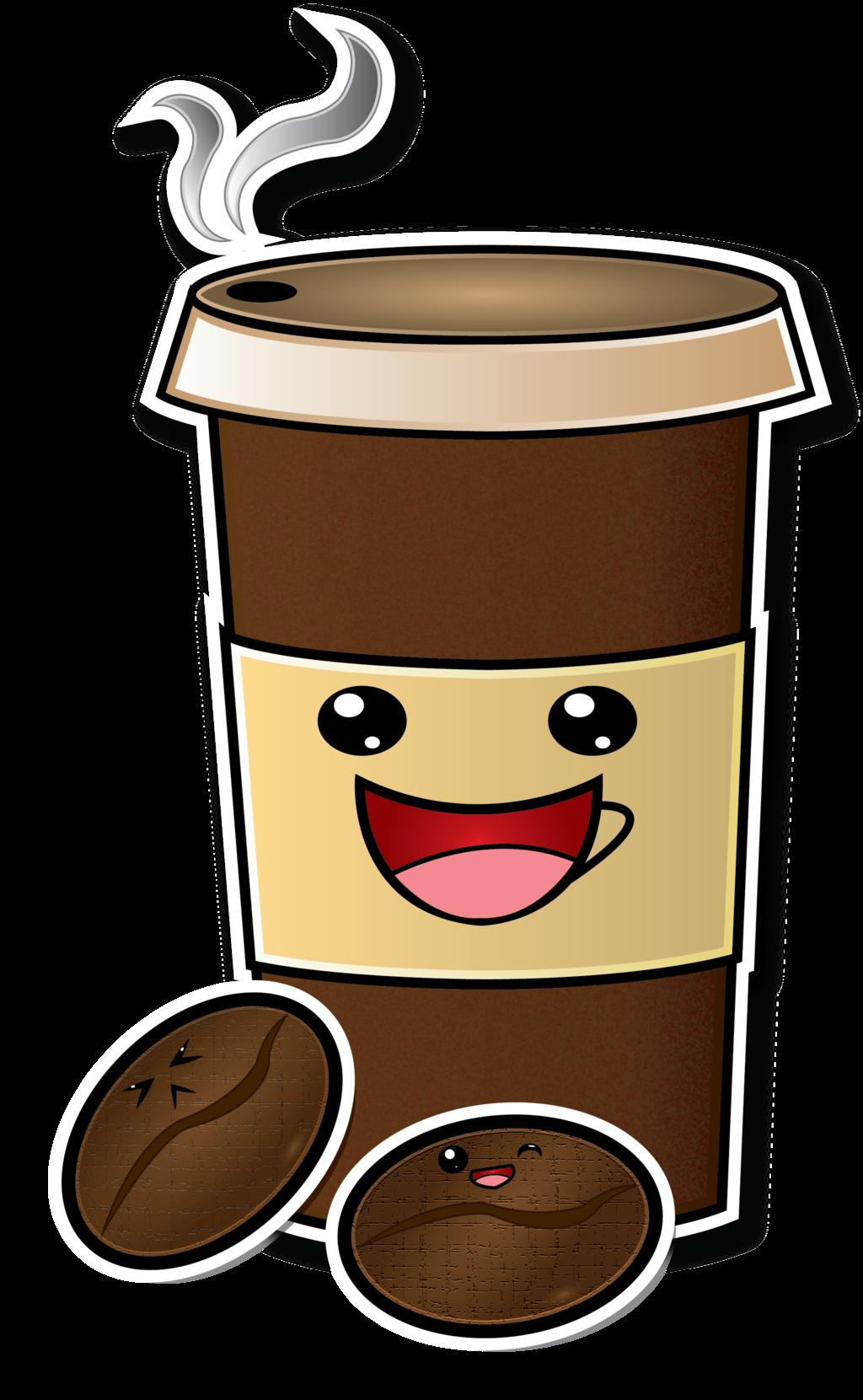 Cute Cartoon Coffee Cup Drawing | Coffee cartoon, Coffee ...