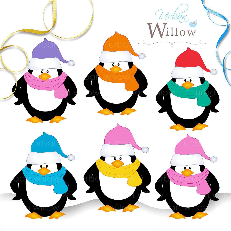 medium resolution of cute penguin clip art