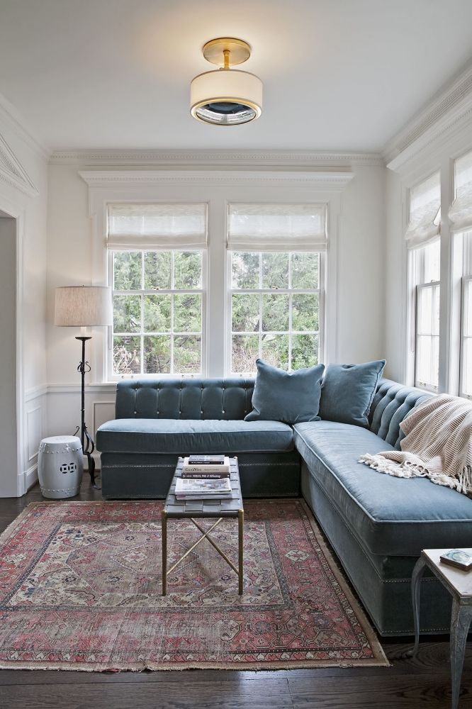 Transitional Living Room With Coastal Vibe And Blue: Pin By Bingley On Blue Two
