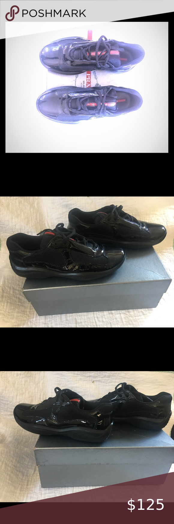 Prada shoes pre owned in good condition no box or bags