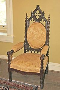 History of British Furniture Styles-Regency Classicism-Gothic Revival- Victorian Period - Knowledge Center - Antiques u0026 Design & Gothic Revival chair | Victorian/Edwardian Goodies | Pinterest ...