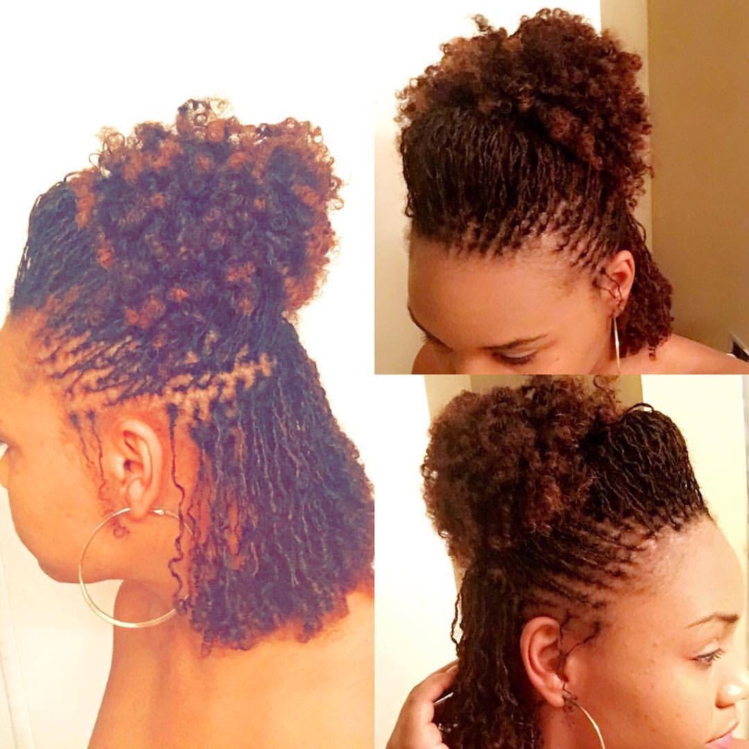 Sisterlocks Hair Styles Natural Hair Styles Locs Hairstyles