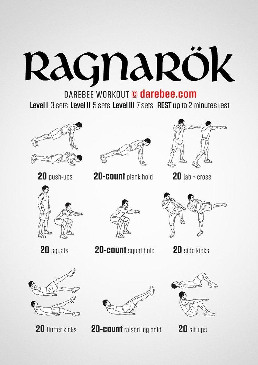d402995b87d1e Body weight workout. Ragnarok.