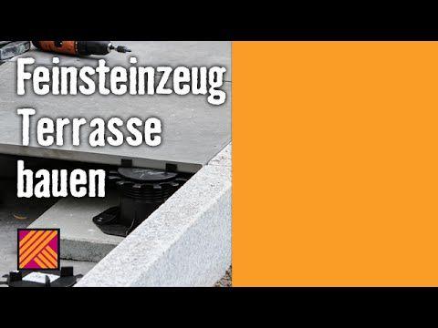 feinsteinzeug-terrasse bauen | hornbach meisterschmiede | videos, Garten ideen gestaltung