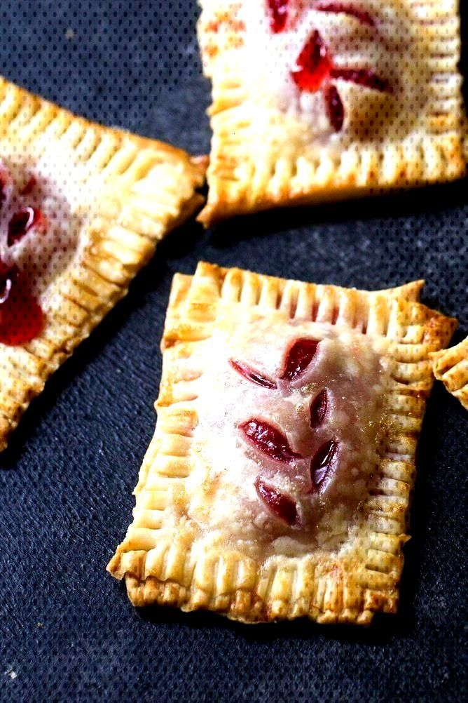 Bite Size Cherry Pies   Six Sisters Stuff Bite size desserts are better because... - Desserts -