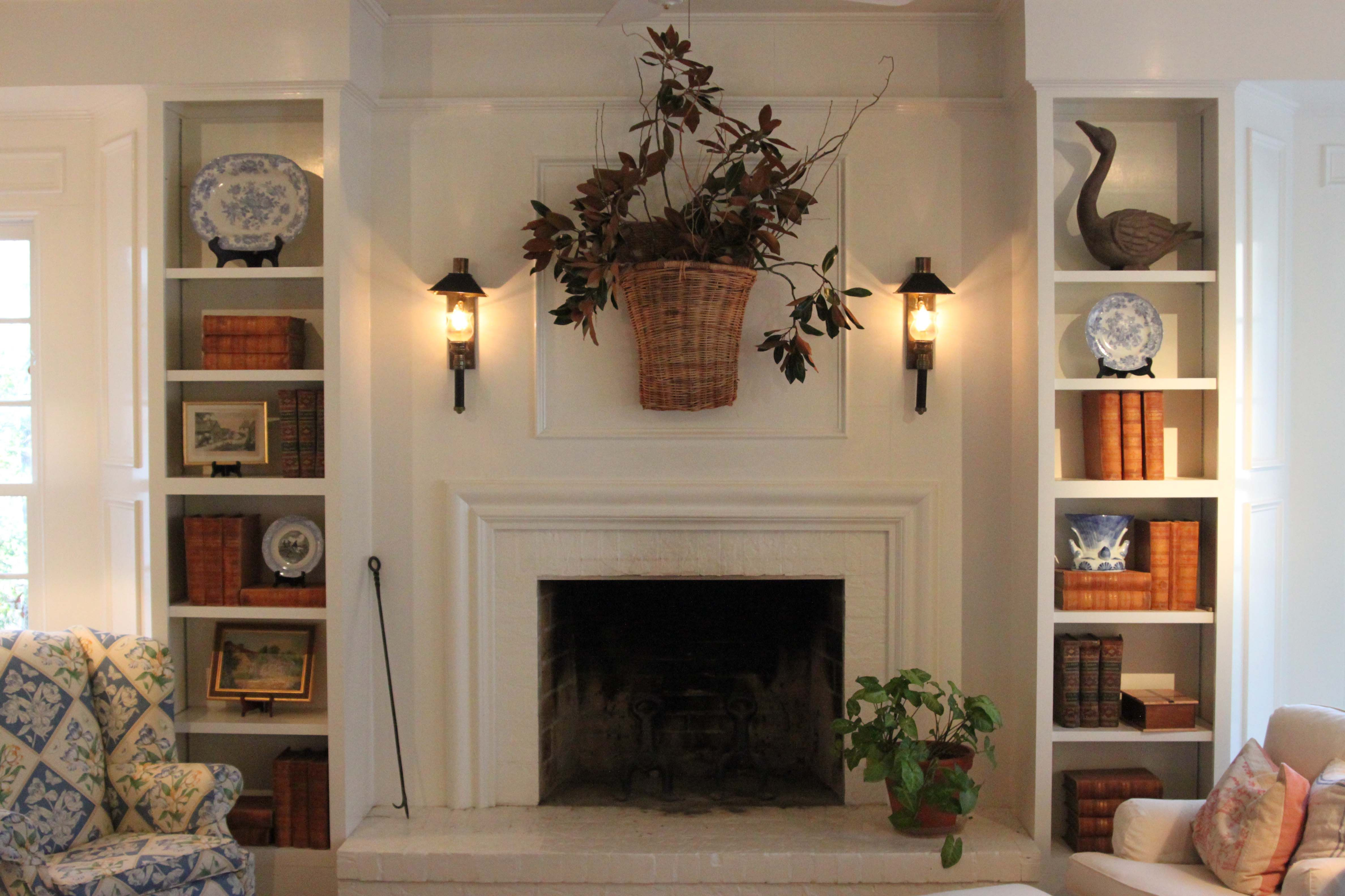A Country Fireplace Country Fireplace French Country Fireplace