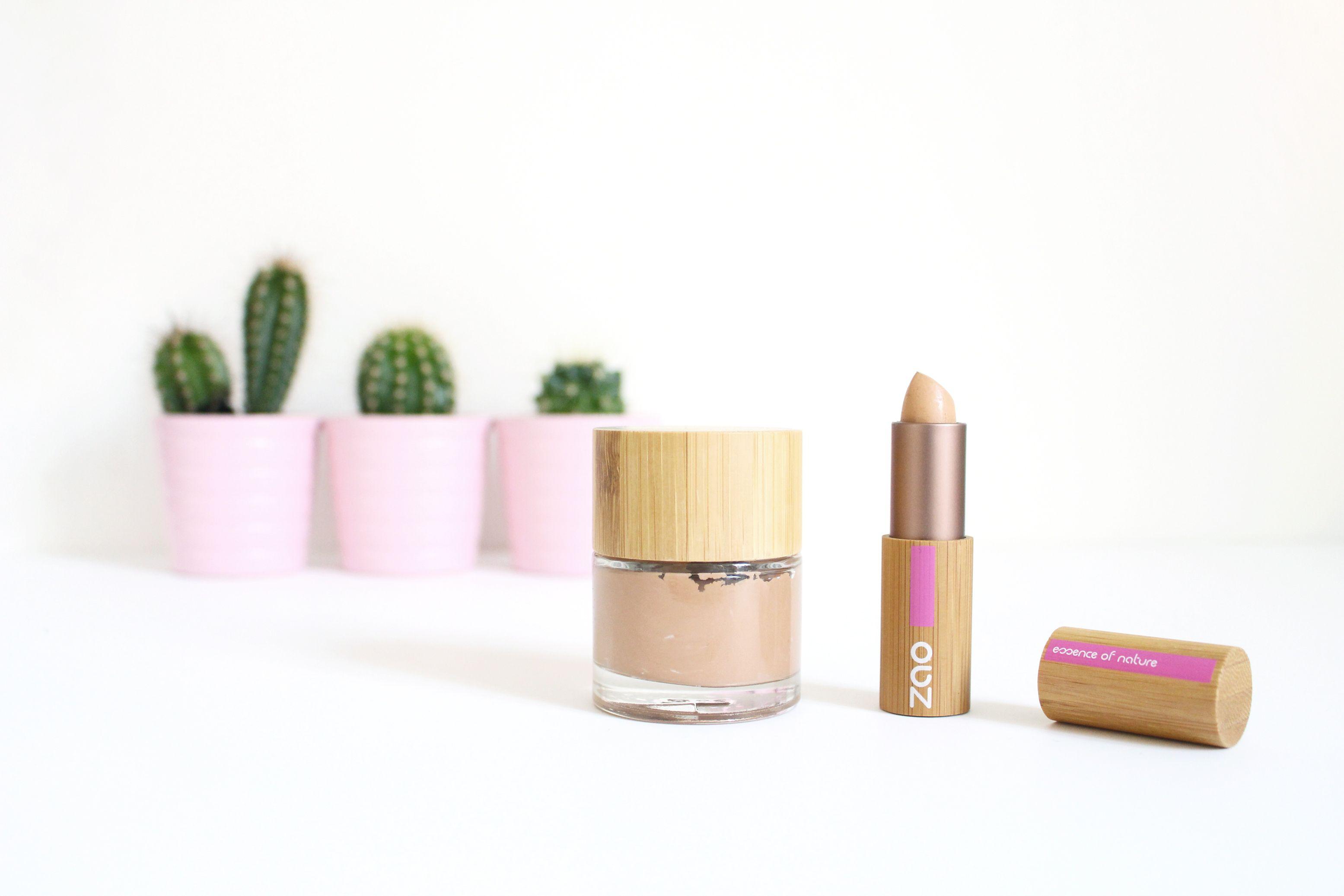 Mon coup de coeur pour ZAO organic makeup Maquillage