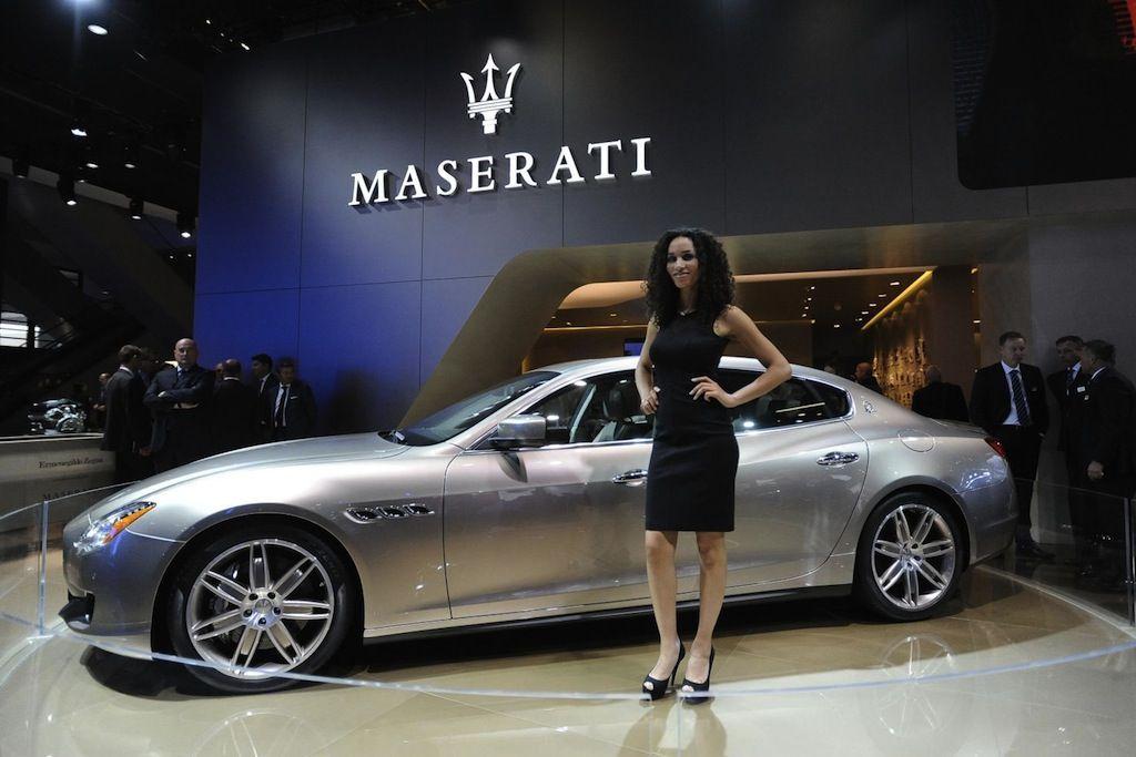 The Maserati Quattroporte Ermenegildo Zegna Limited Edition