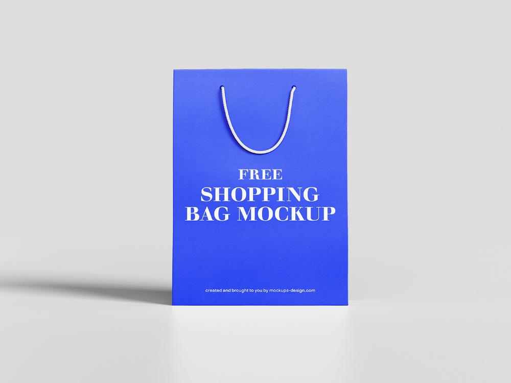 Download Free Shopping Bag Mockup On Behance Bag Mockup Free Shopping Free Design
