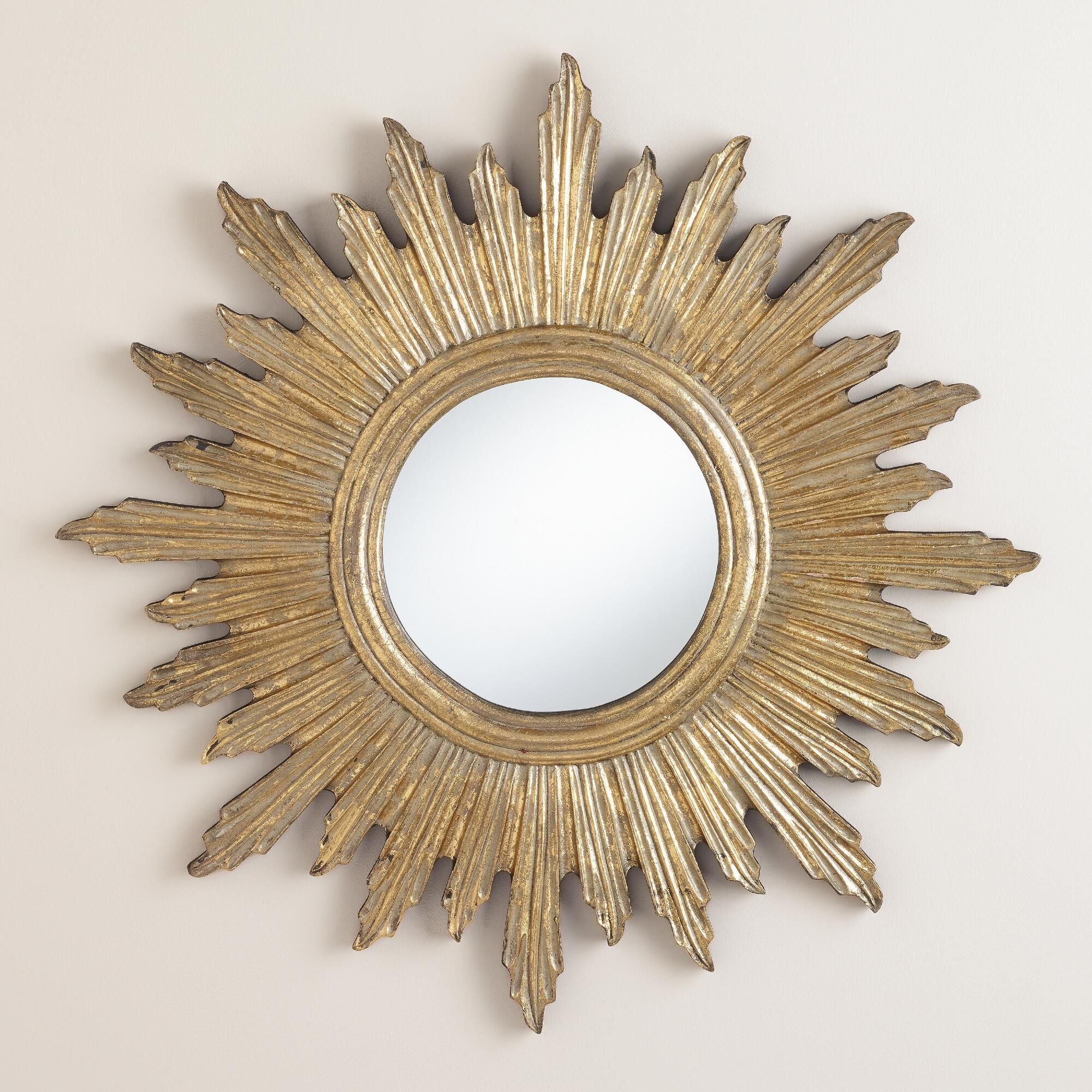 Brighten A Room With Our Radiant Sunburst Mirror Handcrafted By