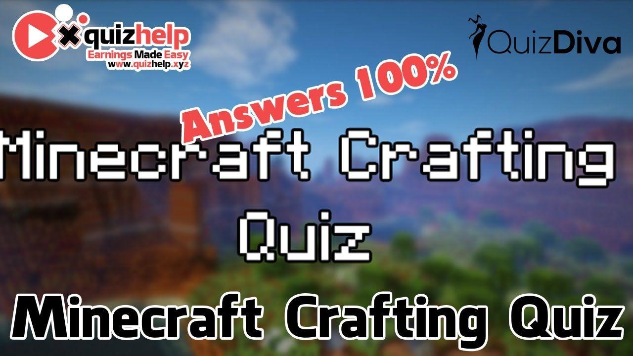 Minecraft Crafting Quiz Answers 11%  QuizDiva  QuizHelp.Xyz