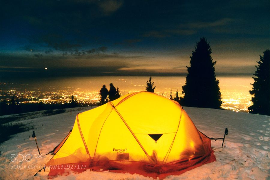 Popular on 500px : Night tent by S_Andrey