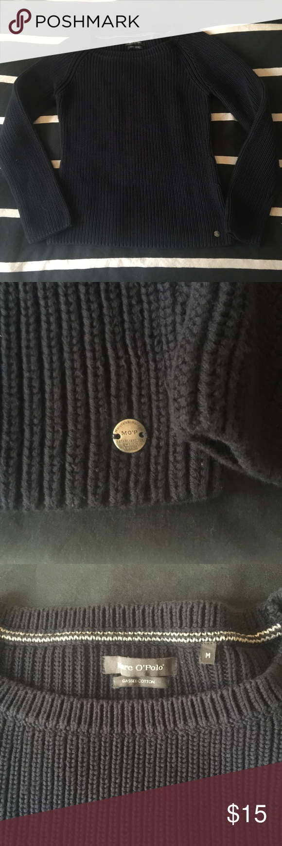 Marco Polo London brand sweater Amazing quality! It looks