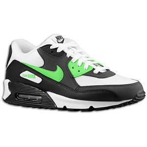 new style e1586 c4861 Nike Air Max 90 Black Neon Lime Anthracite
