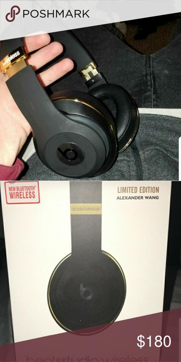 add425a7884 Beats Studio Wireless 2.0 Alexander Wang Limited edition Studio Beats Beats  By Dre Other