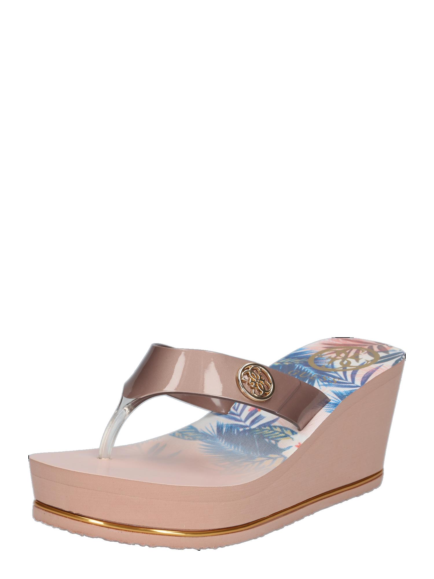 Sandalen Schuhe Damen Guess Sandale Shadia Mit Keilabsatz