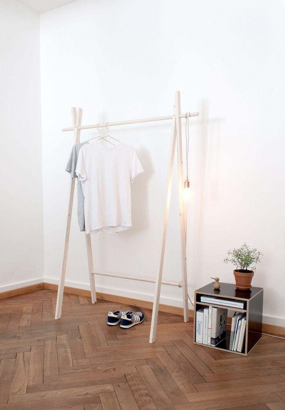 pin van laura op diy pinterest kledingrekken interieur en accessoires. Black Bedroom Furniture Sets. Home Design Ideas