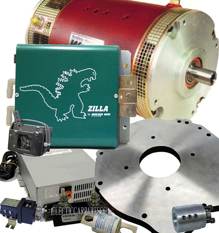Pd750 Electric Motor Kit: 144V 1000A DC Motor Custom EV Conversion Kit Lithium Or