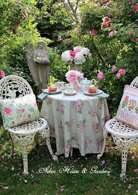 Aiken House & Gardens: Rose Garden Tea | Tea Time | Pinterest | Teas ...