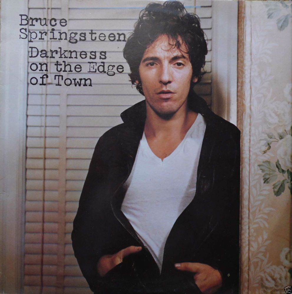 BRUCE SPRINGSTEEN Darkness On The Edge Of Town UK 1978