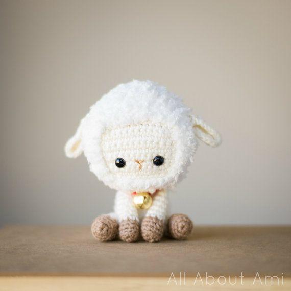 Año nuevo chino oveja Crochet patrón | Animales | Pinterest | Año ...