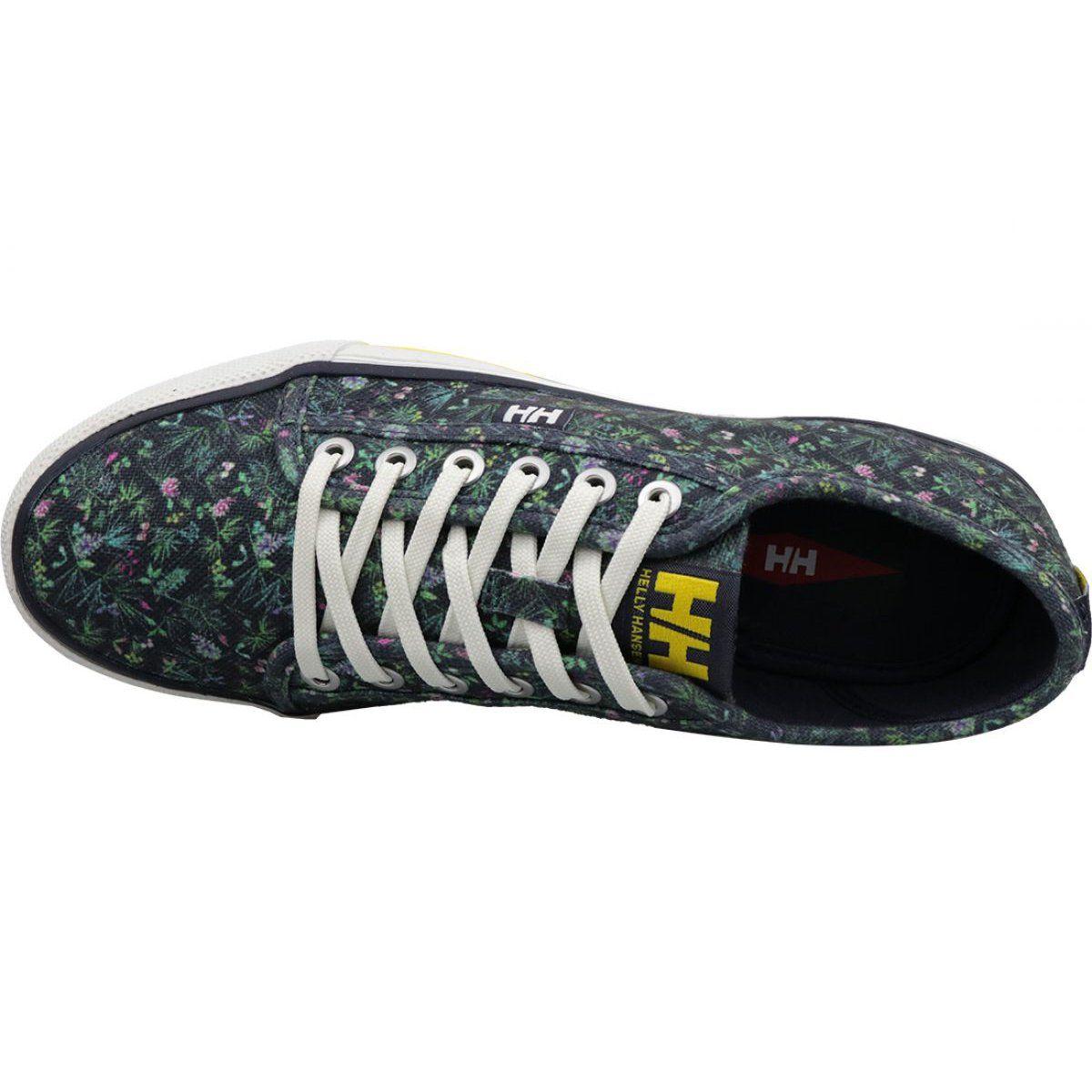 Buty Helly Hansen Fjord Canvas Shoe V2 W 11466 580 Granatowe Canvas Shoes Trainers Women Helly Hansen