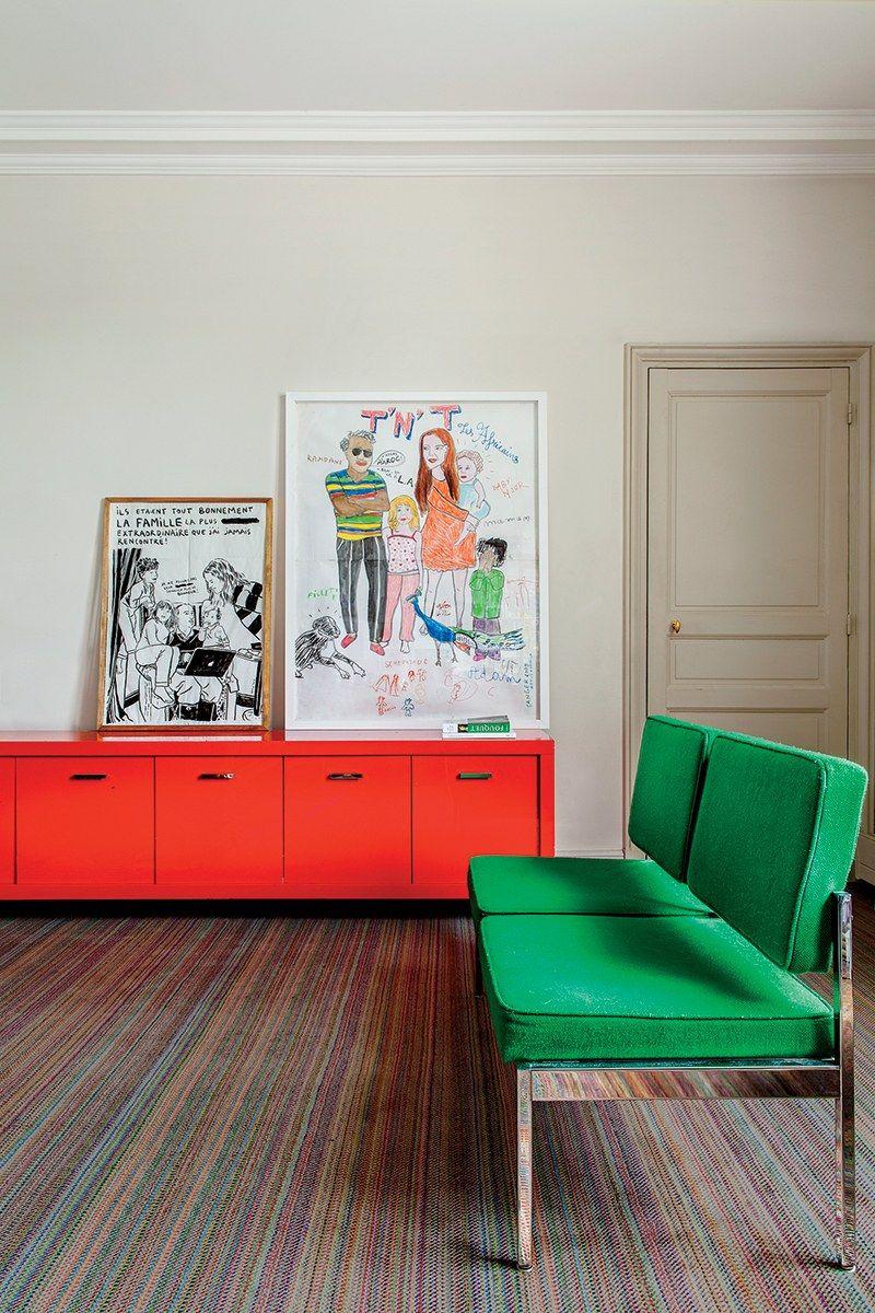 A Look Inside Victoire De Taillac Touhami S Paris Penthouse Ramdane Touhami Decoration Maison Meuble Maison