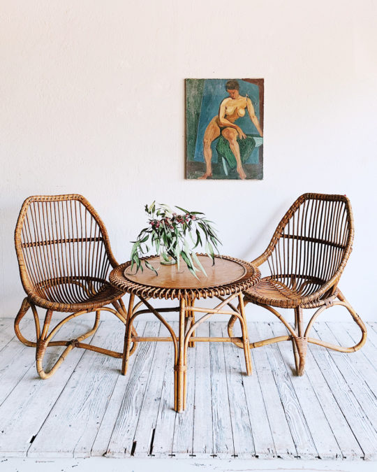 Bamboo Table Four Rattan Lounge Chair Set Sfgirlbybay Bamboo Table Rattan Lounge Chair Bamboo Furniture