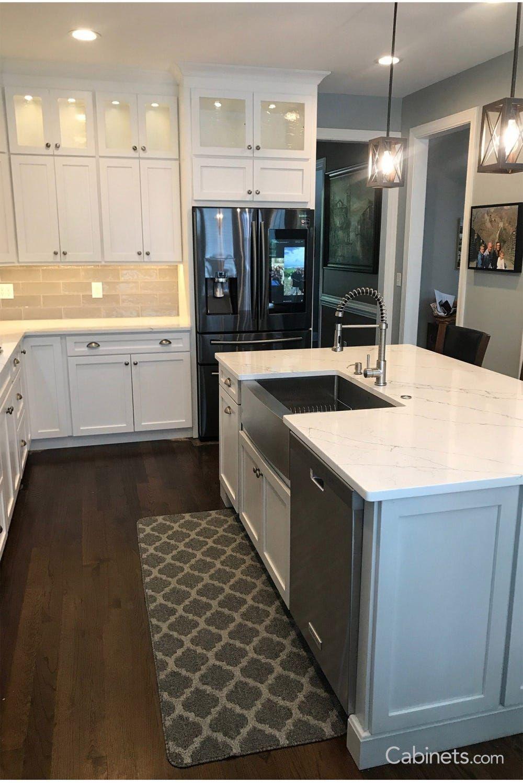 Pin By Deb Hopkins On Kitchen Ideas In 2020 Online Kitchen Cabinets Warm Wood Flooring Kitchen