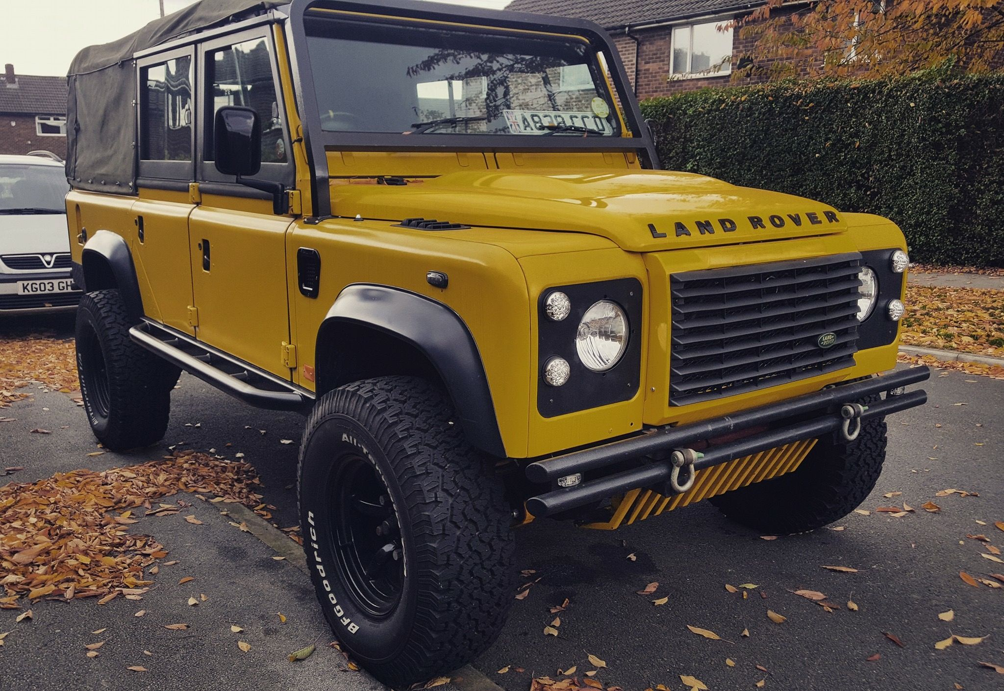 Land Rover Defender 110 Soft Top Land Rover Defender Land Rover
