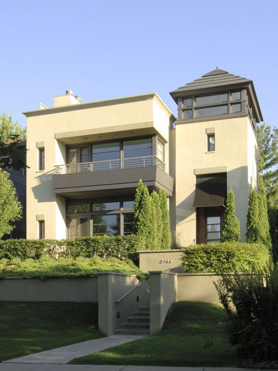 Minimalist Exterior House Design Ideas: Beautiful Elegant Minimalist Home Design: Amazing Lake
