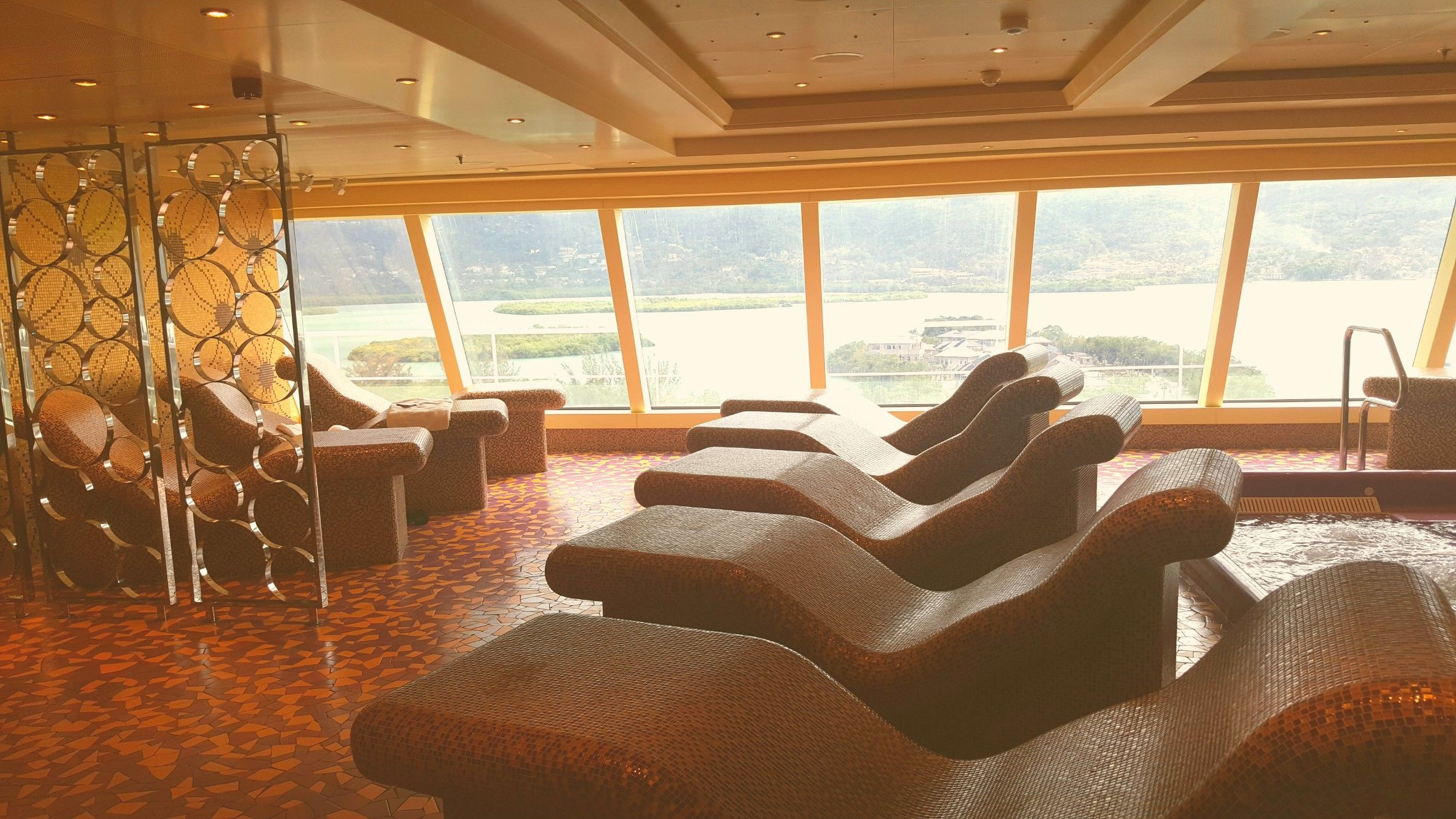 Carnival Vista Cloud 9 Spa: Thermal Suites 😍 Take A Tour