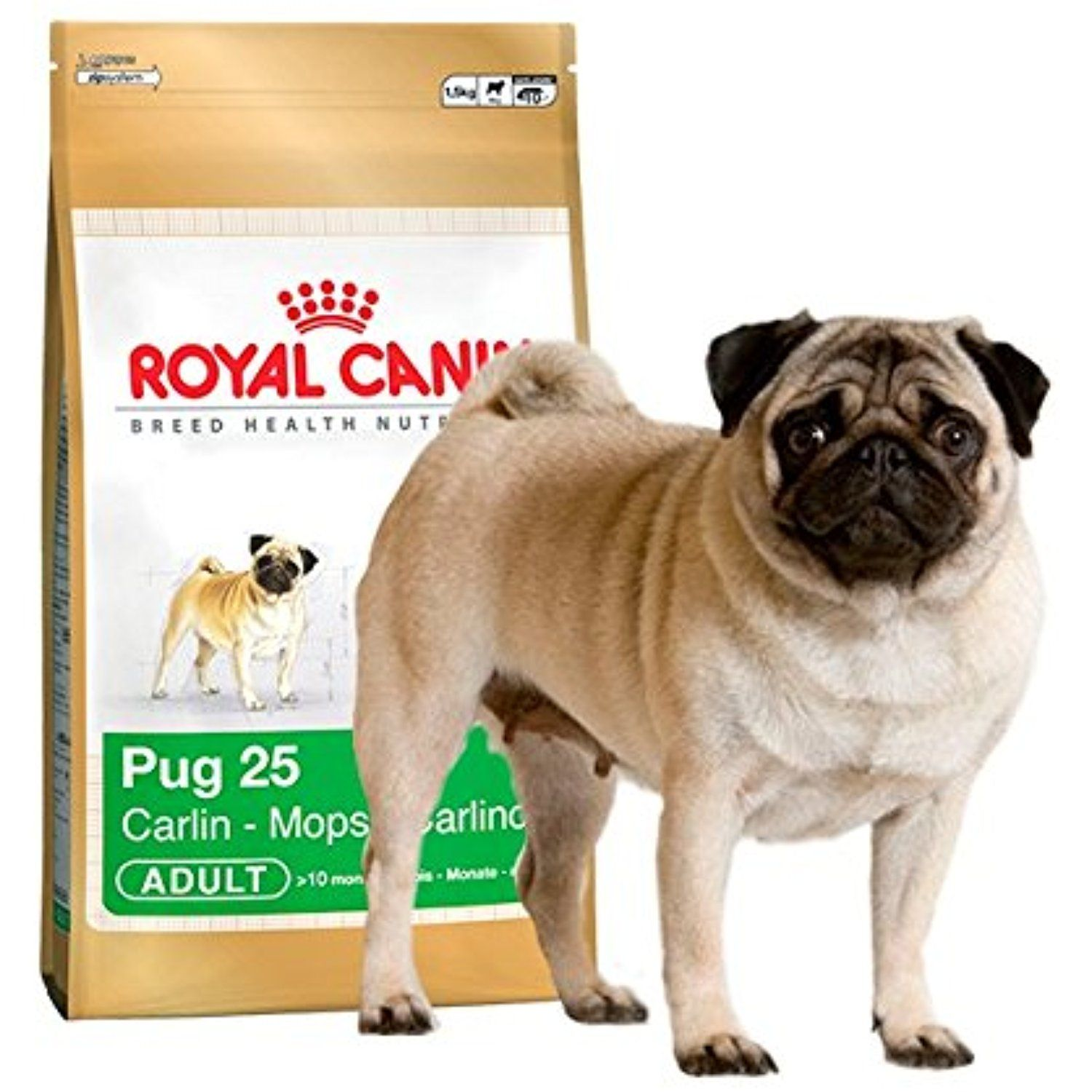 Royal Canin Pug Complete Adult Dry Dog Food 1 5kg You Can Check