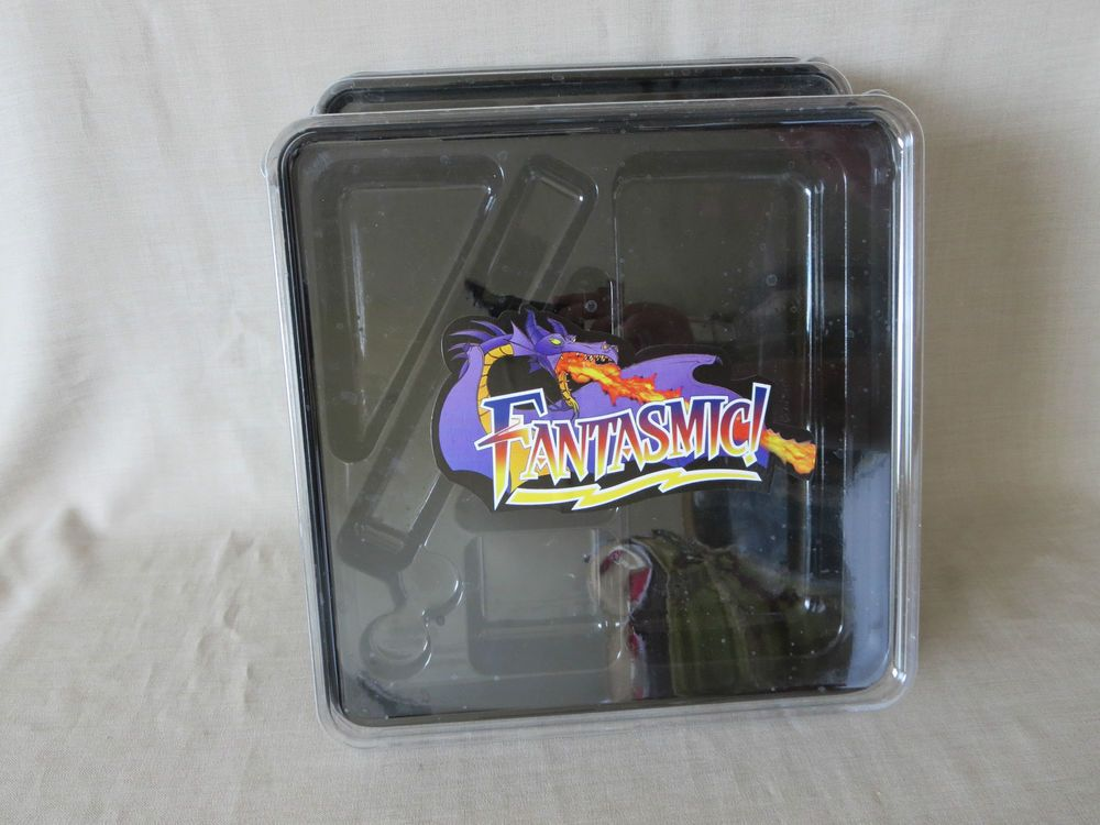 Set of 2 Rare Disneyland Fantasmic! Snack Packages 2015 Theme Park Anaheim CA