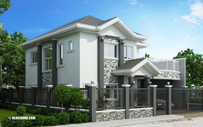 Home Ulric Home Two Story House Design 4 Bedroom House Plans Traditional House Plans