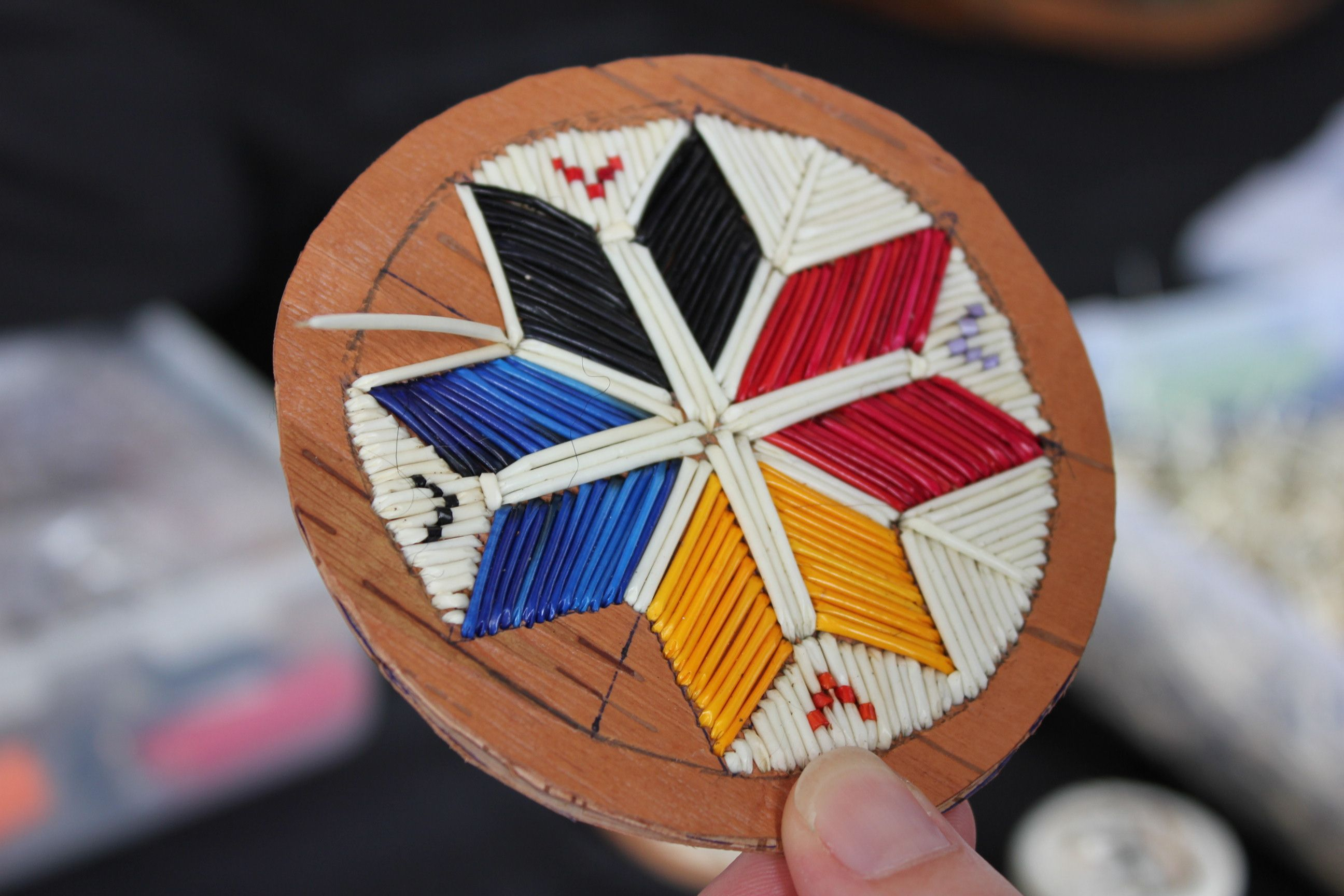 Explore mikmaq culture quillwork craft for native