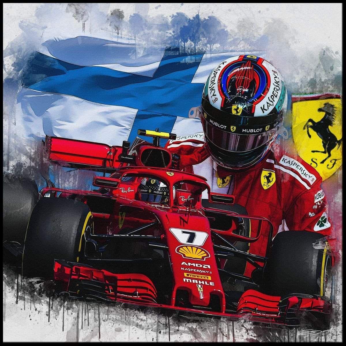 Epingle Par Murias Hubert Sur Kimi Raikonen Formule 1 Voitures