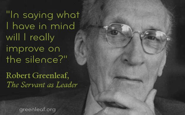 Image result for robert greenleaf servant leader