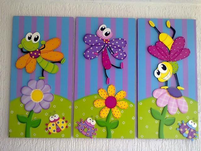 Cuadros infantiles con pintura al leo el resultado es for Cuadros infantiles al oleo