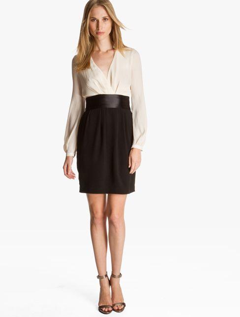 8b06c27c240c Satin Tuxedo Shirt Dress | Classy not too trashy. | Tuxedo dress ...