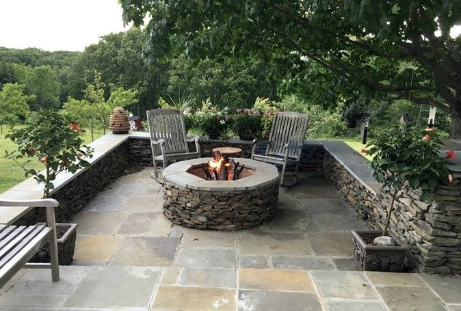 Installing A Diy Capstone To A Firepit Outdoor Fire Pit Outdoor Fire Pit Kits Rustic Fire Pits