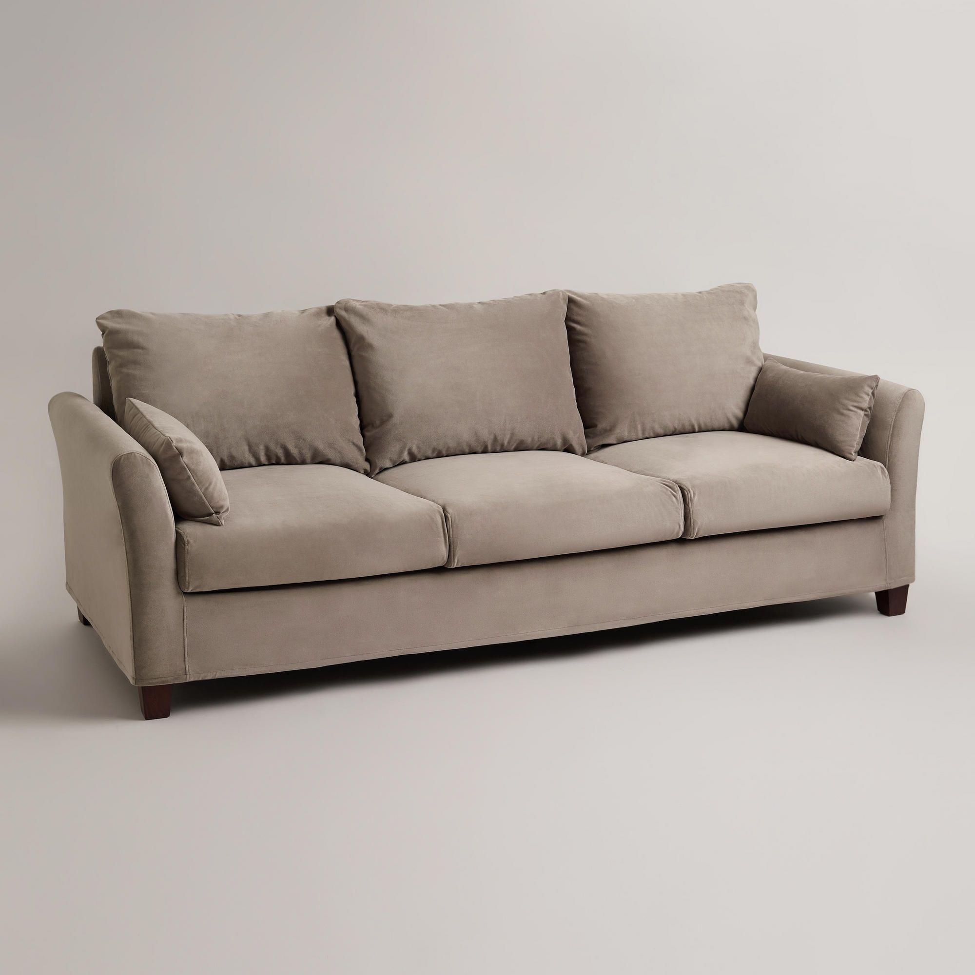 Three Seat Sofa Slipcovers Checks Pattern New Style Three
