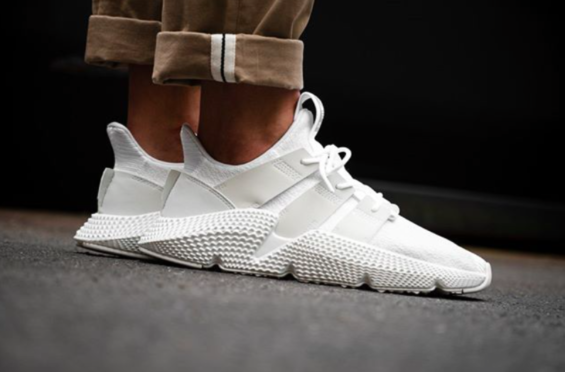The adidas Prophere Crystal White Is Perfect For Summer The adidas Prophere  last dropped in Grey b6b94625d