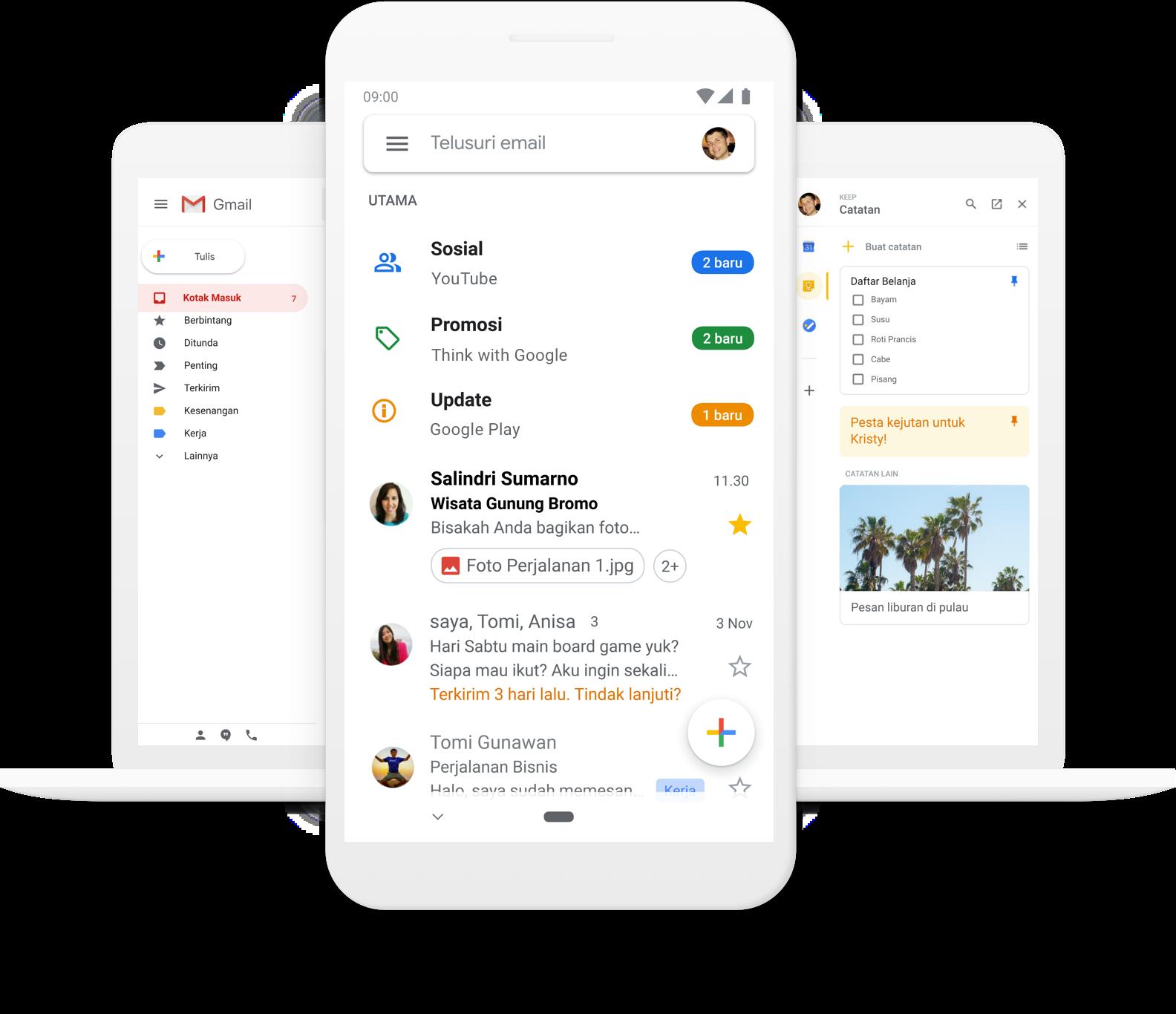 Cara Membuat Akun Gmail Gmail Google Think With Google