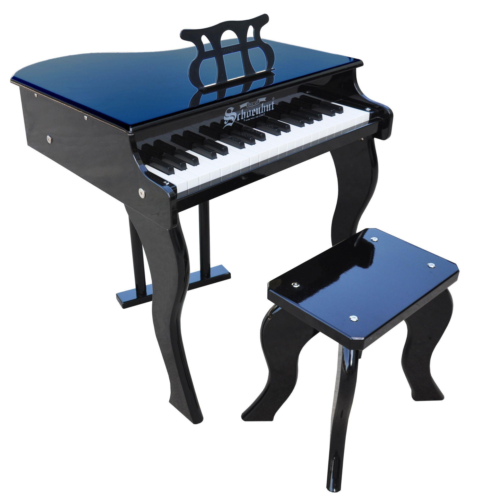 37 Key Elite Baby Grand Piano Schoenhut Toy Piano